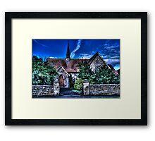 Wesleyan Chapel Framed Print