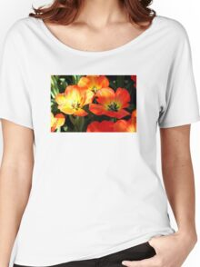 Vibrant Tulips Women's Relaxed Fit T-Shirt