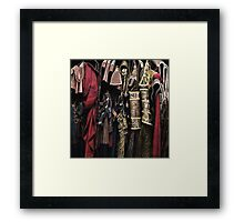 Costumes from the Stratford Warehouse No 04 Framed Print