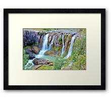 White River Falls, Tygh Valley, Oregon Framed Print