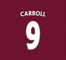 West Ham - Carroll (9) by Thomas Stock
