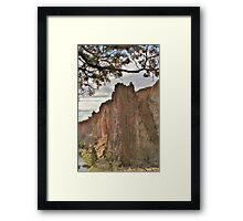 Smith Rock SP, Terrebonne, Oregon Framed Print