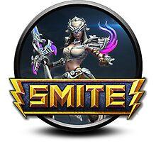 Smite Nemesis Logo Photographic Print