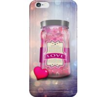 """Soul Purpose"" Collection: Love © Jar iPhone Case/Skin"