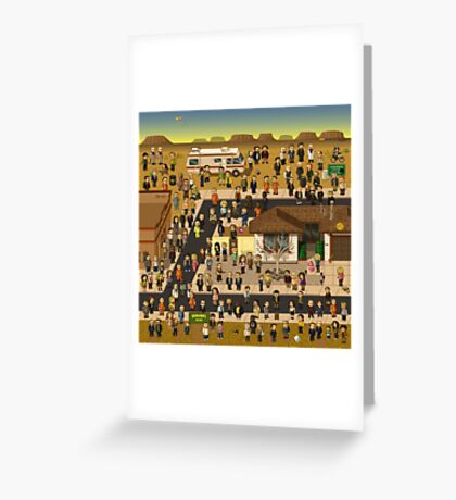 Super Breaking Bad DELUXE Greeting Card