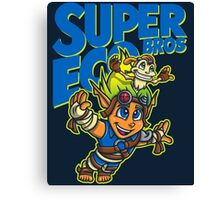 Super Eco Bros Canvas Print