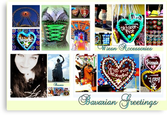 Bavarian Greetings by ©The Creative  Minds