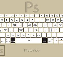 Photoshop Keyboard Shortcuts Brwn Cmd by Skwisgaar