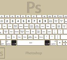 Photoshop Keyboard Shortcuts Brwn Cmd by Skwisgaar