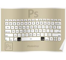 Photoshop Keyboard Shortcuts Brwn Cmd Poster