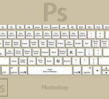 Photoshop Keyboard Shortcuts Brwn Tool Names by Skwisgaar