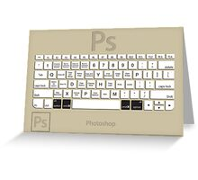 Photoshop Keyboard Shortcuts Brwn Opt+Cmd Greeting Card