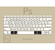 Photoshop Keyboard Shortcuts Brwn Opt+Cmd Photographic Print