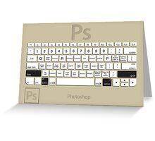 Photoshop Keyboard Shortcuts Brwn Opt+Shift Greeting Card