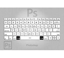 Photoshop Keyboard Shortcuts Metal Photographic Print