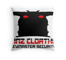 Clortho Security Throw Pillow