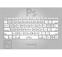 Photoshop Keyboard Shortcuts Metal Tool Names Photographic Print