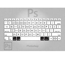 Photoshop Keyboard Shortcuts Metal Opt+Cmd Photographic Print