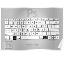 Photoshop Keyboard Shortcuts Metal Option Poster