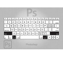 Photoshop Keyboard Shortcuts Metal Opt+Shift Photographic Print