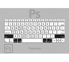 Photoshop Keyboard Shortcuts Metal Opt+Shift+Cmd Photographic Print