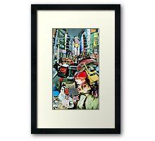 Street Life. Framed Print