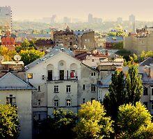 The city of Kiev by ChocChipCookie