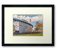 Centenario Stadium Facade, Montevideo - Uruguay Framed Print