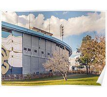 Centenario Stadium Facade, Montevideo - Uruguay Poster