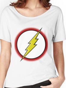 Flash Logo Women's Relaxed Fit T-Shirt