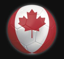 Canada - Canadian Flag - Football or Soccer 2 by graphix