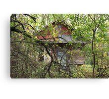 abandoned house Canvas Print