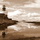 Longstone Lighthouse by mikebov