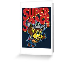 Super Space Bros Greeting Card
