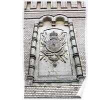 heraldic relief Poster