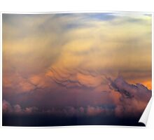 Sunset Storms Poster