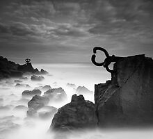 Peine del viento by Chillida by Paul Webb