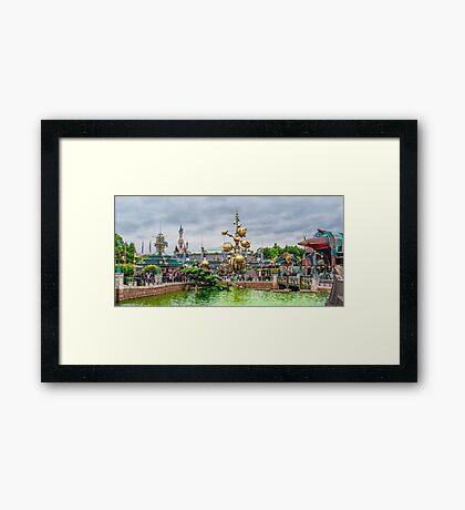 Discoveryland Framed Print
