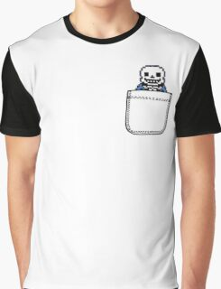 Sans in the Pocket - Undertale Graphic T-Shirt