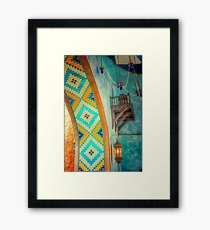 Persian Home Framed Print