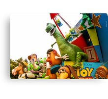 Toy Story Characters Canvas Print