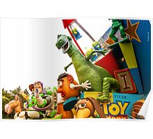 Toy Story Characters Poster