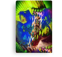 4549 Psychedelic Fish Canvas Print