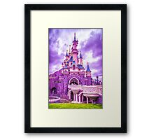 Sleeping Beauty Castle Framed Print