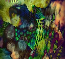4550 Psychedelic Fish by AnkhaDesh