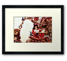 Captain Hook Framed Print