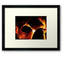 The Middle Burn Framed Print