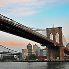 Brooklyn Bridge & Manhattan Bridge New York by Poete100
