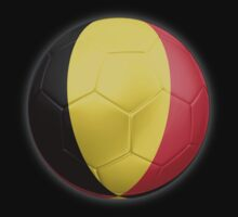 Belgium - Belgian Flag - Football or Soccer 2 by graphix
