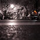 NYC 75th Street Infrared at night by Troy Dodds